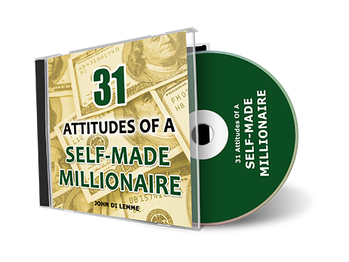 *31* Attitudes of a Self-Made Millionaire CD by John Di Lemme