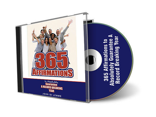 365 Affirmations to Guarantee a Record-Breaking Year CD by John Di Lemme