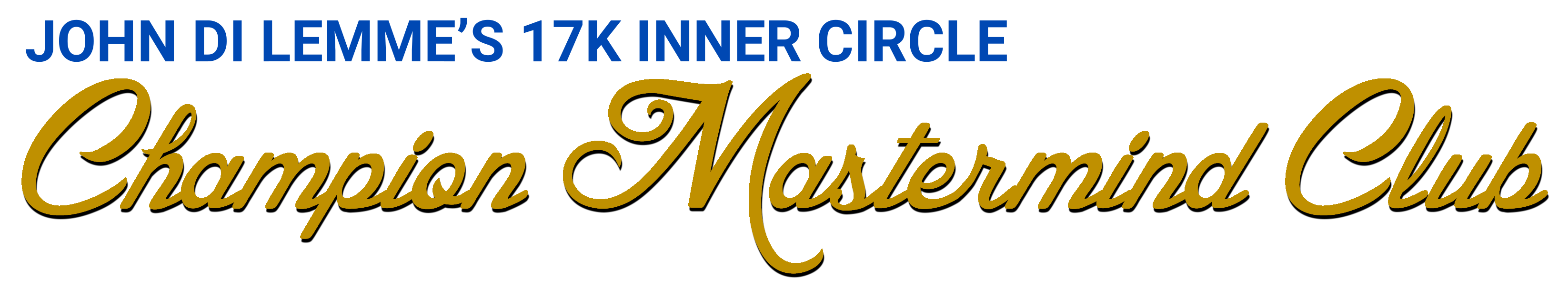 17K Inner Circle Champion Mastermind Club Logo