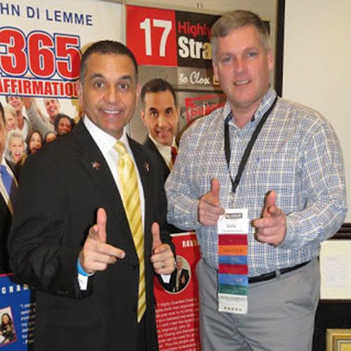 John Di Lemme with Eric Chamberlain