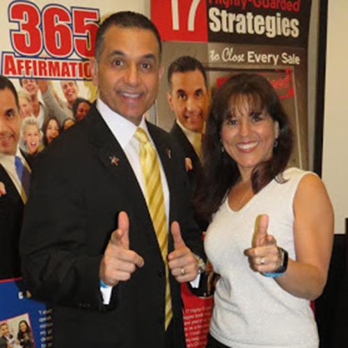 John Di Lemme with Dr. Sandra Kahn