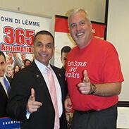 John Di Lemme with Steve Meyer